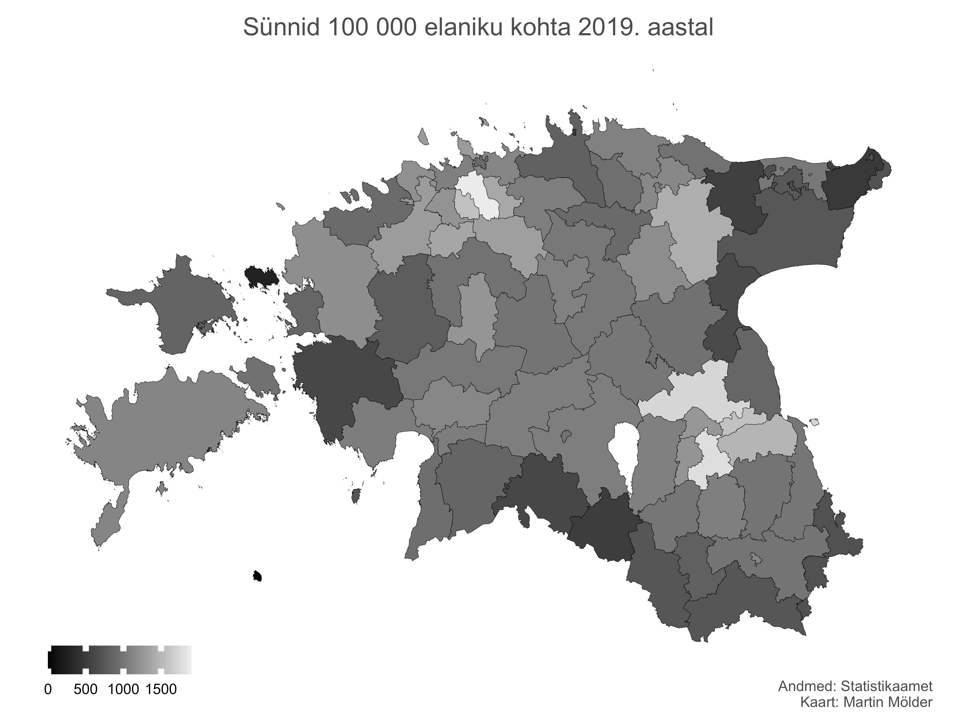 Sündivus Eestis